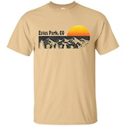 Retro Estes Park Colorado T-Shirt