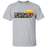 Retro Orient Bay Beach, St. Martin T-shirt – T-Shirt