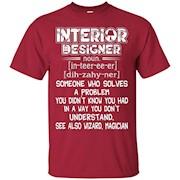 Interior Designer Shirts – Love Interior Designer Tee Shirt – T-Shirt