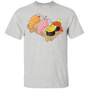 T-Shirt, Salmon, Toro, Uni, Ikura Sushi Brothers, Japanese