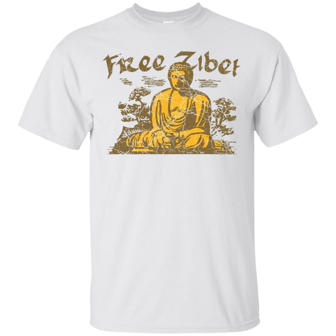 Whereables Free Tibet Buddhist T-Shirt