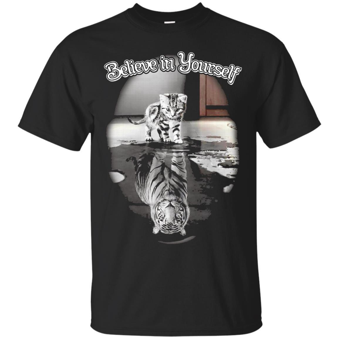 Cat Kitten believe in yourself 2017 – T-Shirt