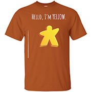 Hello, I'm Yellow Meeple. Board Games t-shirt – T-Shirt