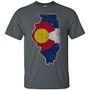 Colorado Illinois Transplant Shirt – T-Shirt