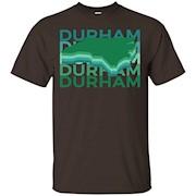 Durham North Carolina T Shirt Vintage Repeat – T-Shirt