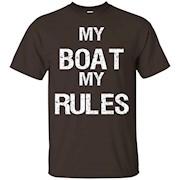 Funny Boat Captain Owner Lover Dad Men Apparel Gift T-shirt – T-Shirt