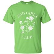 Womens Sad Girls Club popular internet meme tshirt – T-Shirt
