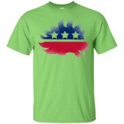Libertarian Porcupine Logo Vintage Faded Design Soft T-Shirt