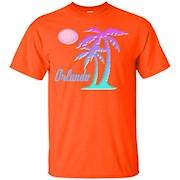 Orlando Souvenir TShirt Gift Tropical Palm Tree Florida – T-Shirt