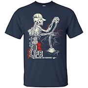 18 to Life a Truck Drivers life gift idea Truckers T Shirt – T-Shirt