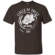 Circle Of Trust My Boxer Dog T-Shirt Animal Tee Shirts
