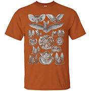 Bats Scientific Illustration Drawing Biology Art Halloween – T-Shirt