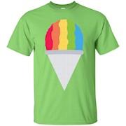 Shaved Ice Ice Cream Emoji T-Shirt