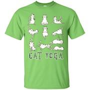 Fun Cat Yoga T Shirt – T-Shirt