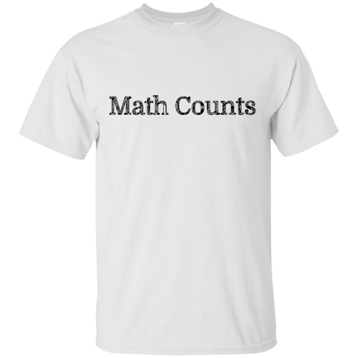 Math Counts T-Shirt