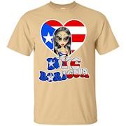 NYC Boricua Cute Girl Drawing Puerto Rican Day Parade T-Shirt