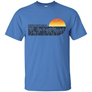 Retro Manhattan Beach California Vintage Sunset Beach T-shir – T-Shirt