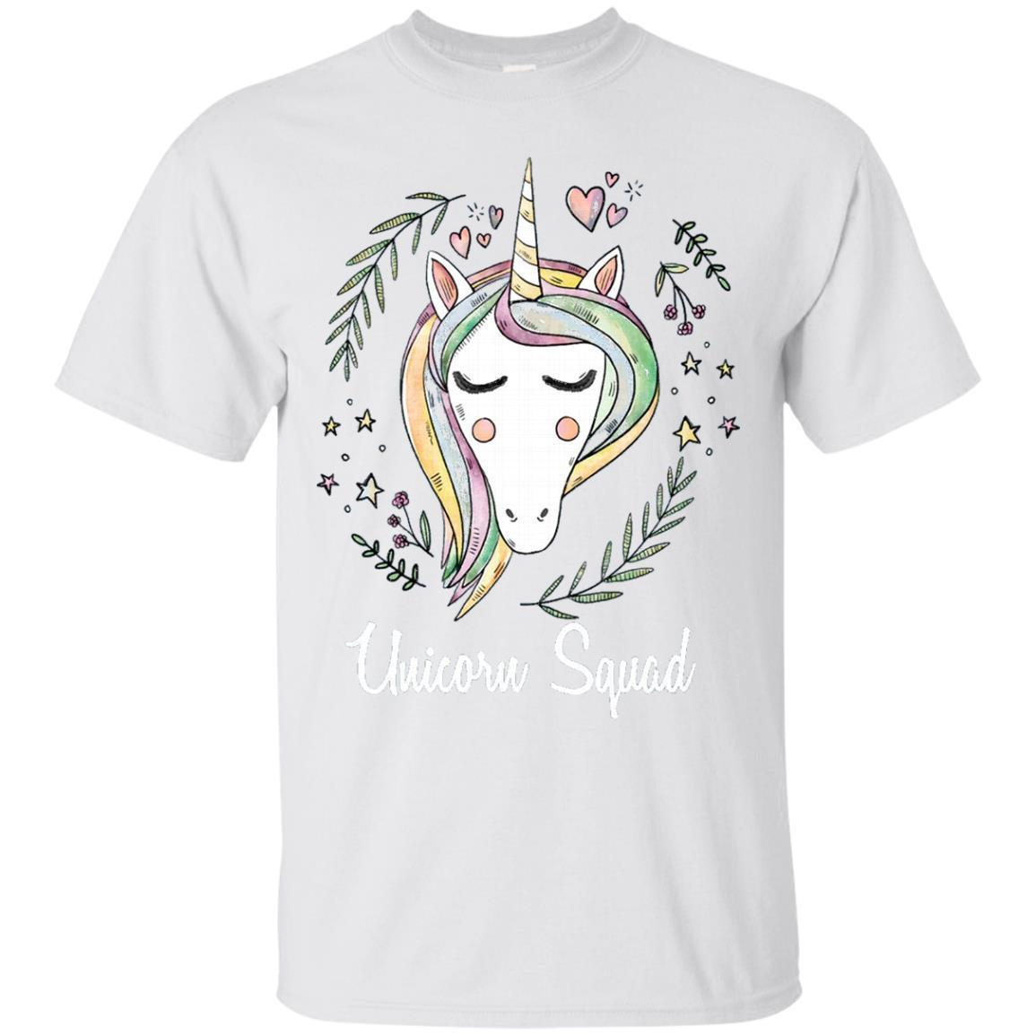 Unicorn Squad Funny Tee T Shirt Cute Unicorn Humor – T-Shirt