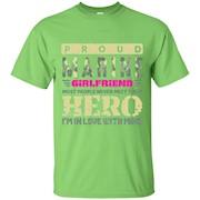 Womens Marine Girlfriend Shirt. Marine Hero Girlfriend Gifts – T-Shirt