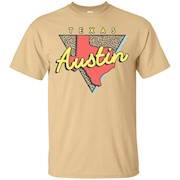 Austin Texas T Shirt Vintage Triangle – T-Shirt