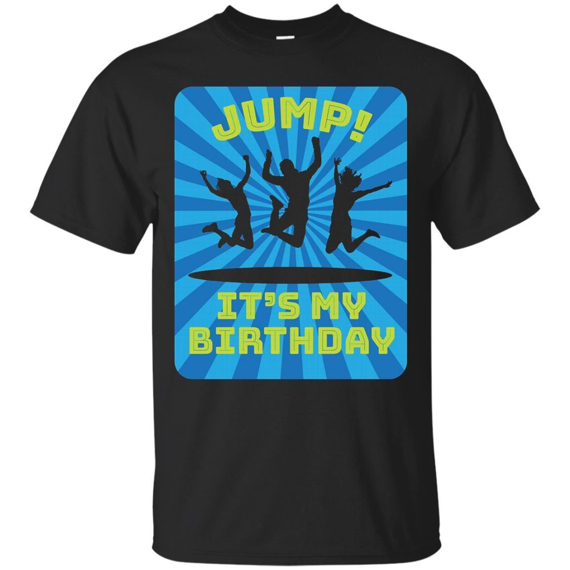 Boy's Trampoline Bounce House Birthday Party Shirt – T-Shirt