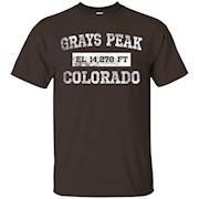 Grays Peak Colorado T Shirt Elevation 14,278 Ft. – T-Shirt