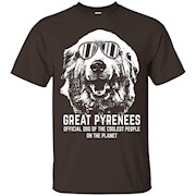 Great Pyrenees Shirt Official Dog of the Coolest People – T-Shirt