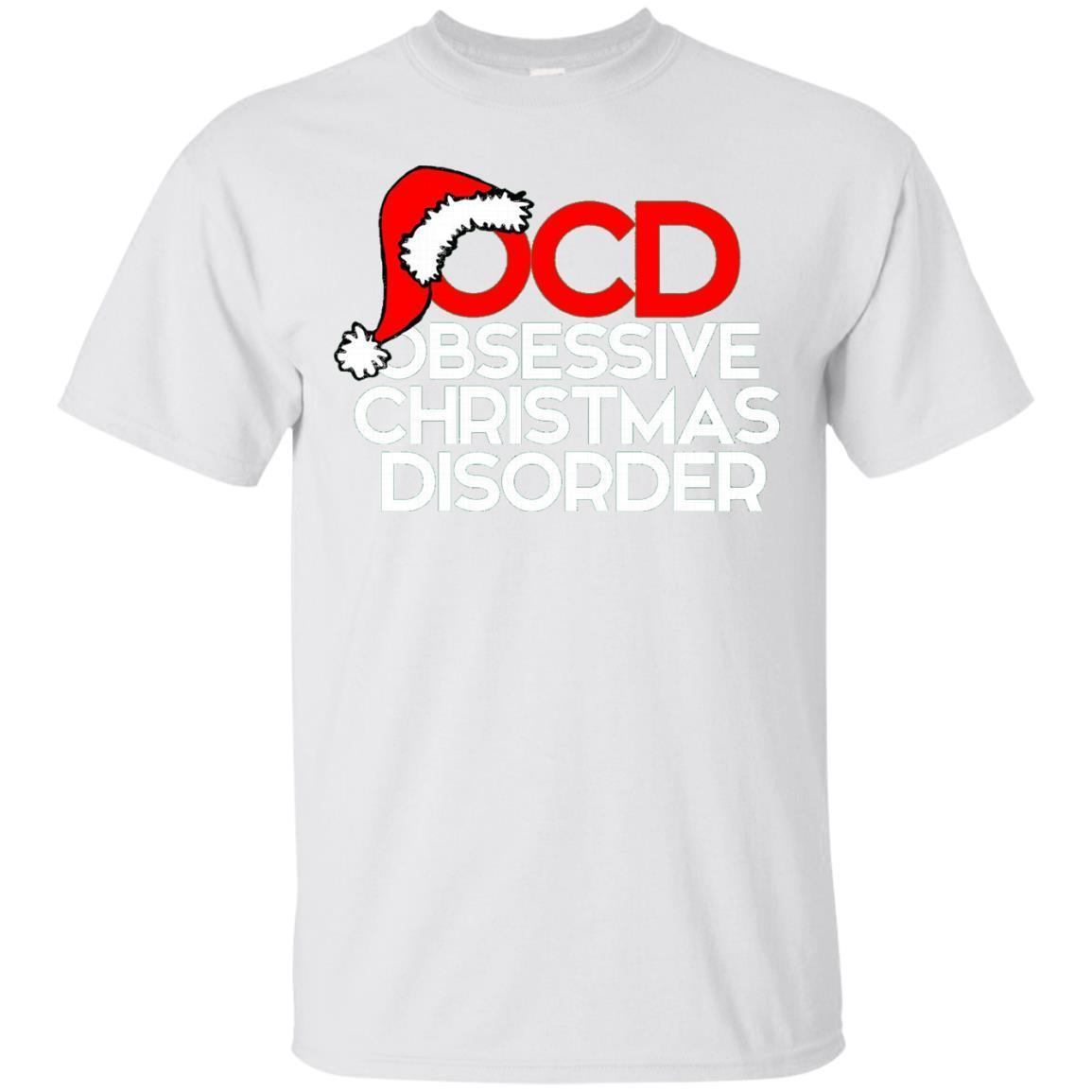 OCD Obsessive Christmas Disorder shirt xmas party t-shirt – T-Shirt