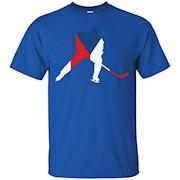 Czechia Ice Hockey Shirt Czech Republic Player Team Stick – T-Shirt