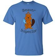 Inspector Beaver Tail Shirt Funny Tees For Men Beaver Shirt – T-Shirt