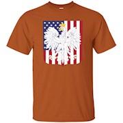 Poland Coat of Arms Polish American Flag Shirt – T-Shirt