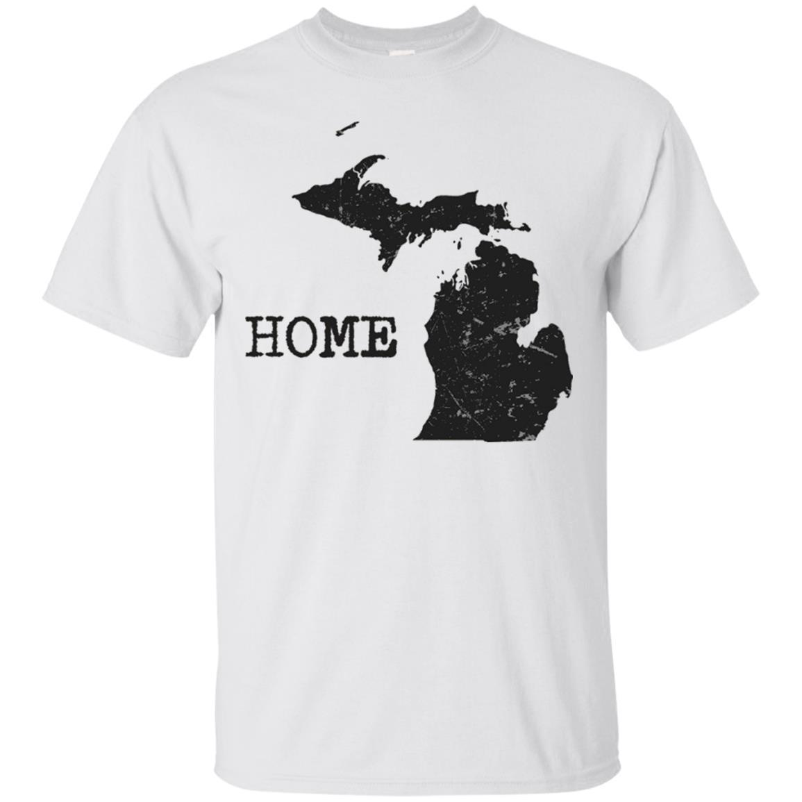 Home Tees I Love My Home State Michigan UP North T-Shirt