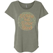 Screw The Color Blind Colorblind Circle Dot T Shirt