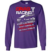 DRAG RACING – OVERRATED DRAG RACING RACER T-SHIRT