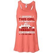 Towboater Tshirt – This Girl Is Protected By A Hot Towboater