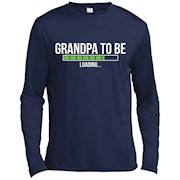 Men's Grandpa To Be Loading Soon To Be Grandfather Shirt – Long Sleeve Tee
