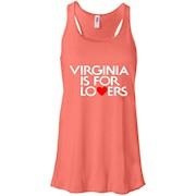 Virginia Is For Lovers Ladies's Racerback Tank