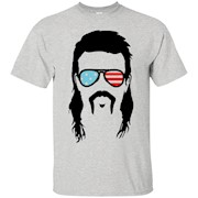Funny Mullet 4th of July Tee Merica T-Shirt