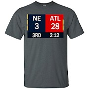 28-3 Big Game Comeback T Shirt – Atlanta 28 New England 3