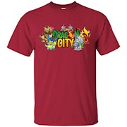 Dragon And City T-Shirt