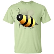 Bee Emoji T-Shirt Bumblebee Emoticon Honeybee