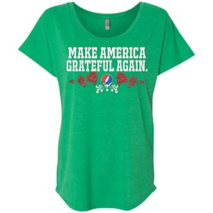 Make America Grateful Again – Ladies' Triblend Dolman Sleeve