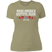 Make America Grateful Again – Ladies' Boyfriend T-Shirt