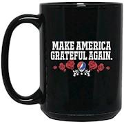 Make America Grateful Again – Black Mug