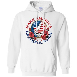 Make Grateful Again – America – Pullover Hoodie