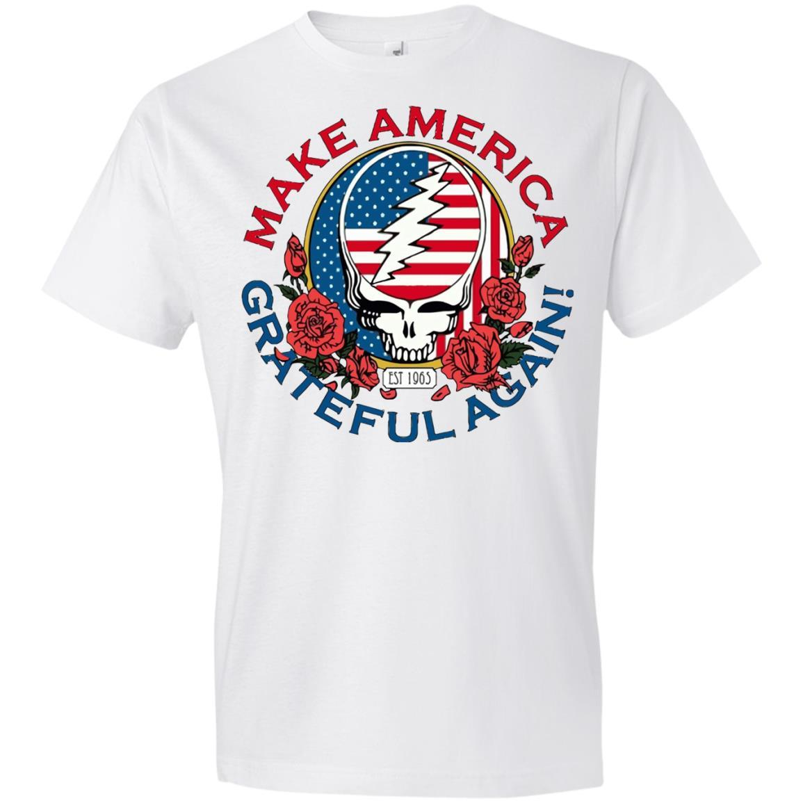 Make Grateful Again – America – Anvil T-Shirt