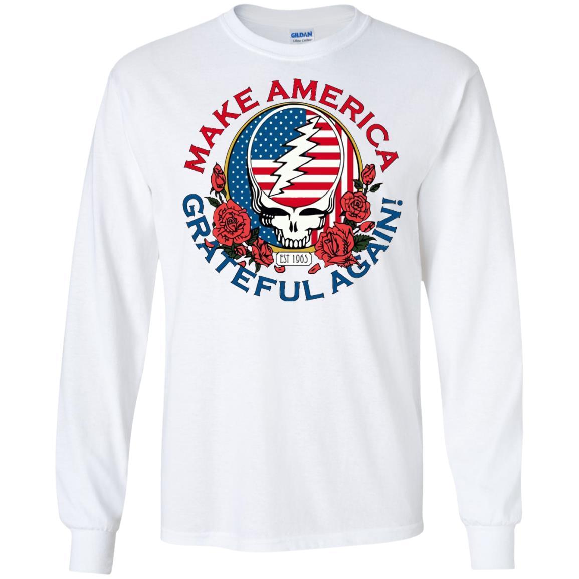Make Grateful Again – America – LS T-Shirt