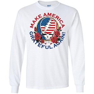 Make Grateful Again – America – LS T-Shirt