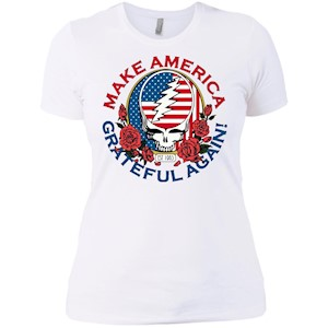 Make Grateful Again – America – Ladies' Boyfriend T-Shirt