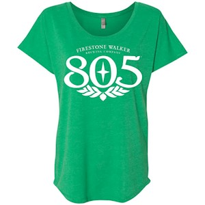 805 Beer – Ladies' Triblend Dolman Sleeve